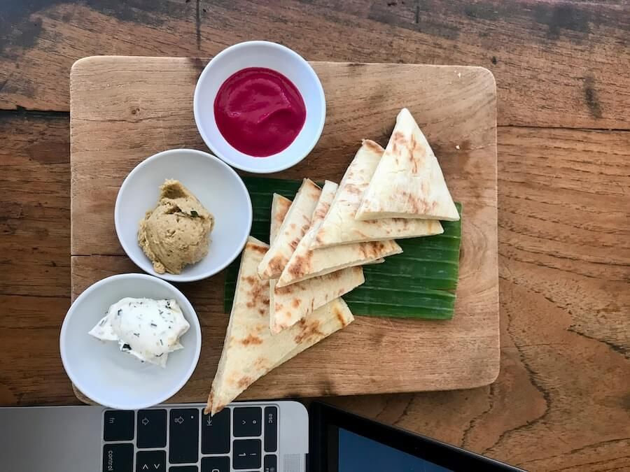 Pita-Hummus-Good-Mantra-Cafe-Ubud